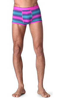CALVIN KLEIN Striped micro low-rise trunks