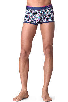 CALVIN KLEIN Patterned micro low-rise trunks