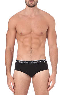 CALVIN KLEIN Two pack stretch–cotton briefs