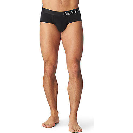 CALVIN KLEIN Bold Flex briefs (Black