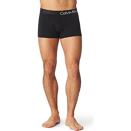 CALVIN KLEIN Bold Flex trunks (Black