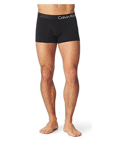 CALVIN KLEIN Bold Flex trunks (Black