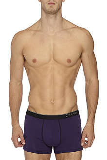 CALVIN KLEIN Two pack stretch-cotton trunks