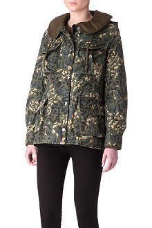 MARC BY MARC JACOBS Camouflage parka coat