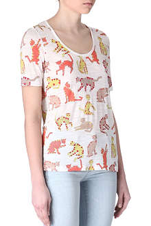 MARC BY MARC JACOBS Nekos cat-print t-shirt