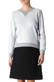 MARC BY MARC JACOBS Metallic sweatshirt