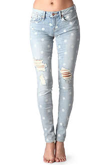 MARC BY MARC JACOBS Lily Dot skinny low-rise jeans