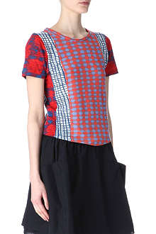 MARC BY MARC JACOBS Checked t-shirt