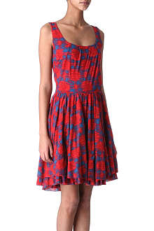 MARC BY MARC JACOBS Checked jersey dress