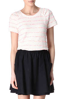 MARC BY MARC JACOBS Flecked jersey top