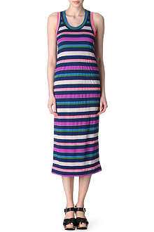 MARC BY MARC JACOBS Smashed stripe jersey dress