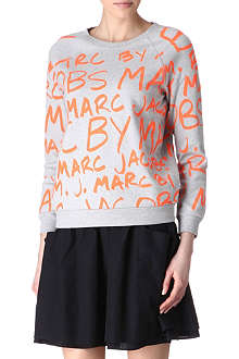 MARC BY MARC JACOBS Graffiti-print jumper