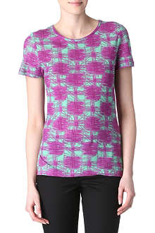 MARC BY MARC JACOBS Checked jersey t-shirt