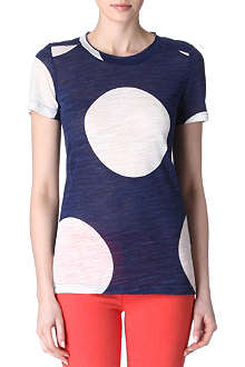 MARC BY MARC JACOBS Velma dotted t-shirt