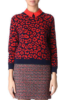 MARC BY MARC JACOBS Lita cheetah jumper