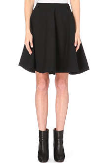 MARC BY MARC JACOBS Flared wool-blend skirt