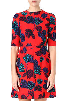 MARC BY MARC JACOBS Mareika Tulip silk-jacquard dress