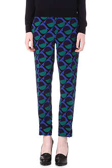 MARC BY MARC JACOBS Etta print trousers