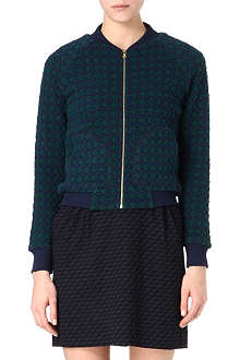 MARC BY MARC JACOBS Cotton-blend bomber jacket