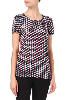 MARC BY MARC JACOBS Puzzle-print top