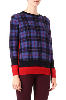 MARC BY MARC JACOBS Aimee checked jumper
