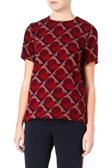 MARC BY MARC JACOBS Etta printed top