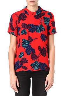 MARC BY MARC JACOBS Mareika Tulip silk-jacquard top