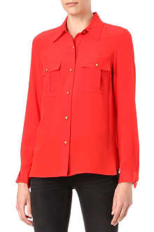 MARC BY MARC JACOBS Alex silk-crepe shirt