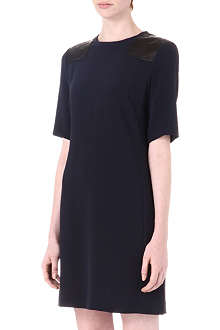 MARC BY MARC JACOBS Leather-panel dress