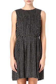MARC BY MARC JACOBS Minetta pleated spot dress