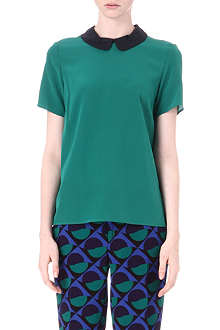 MARC BY MARC JACOBS Alex silk top