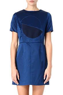 MARC BY MARC JACOBS Etta wool and silk-blend dress