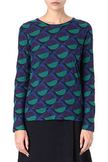 MARC BY MARC JACOBS Long-sleeved Etta print top