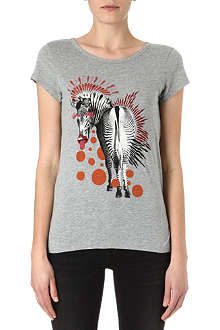 MARC BY MARC JACOBS Zebra-print t-shirt