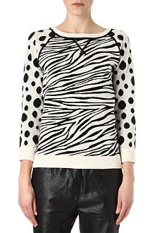 MARC BY MARC JACOBS Sherba intarsia jumper