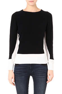 MARC BY MARC JACOBS Bella two-tone cashmere jumper