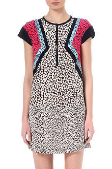 MARC BY MARC JACOBS Bianca panelled silk dress
