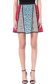 MARC BY MARC JACOBS Bianca patchwork silk skirt