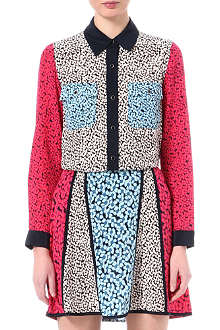 MARC BY MARC JACOBS Bianca printed silk shirt