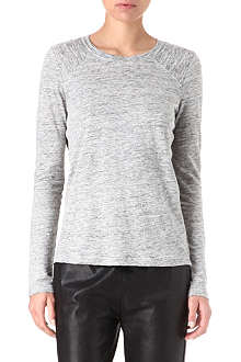MARC BY MARC JACOBS Carmen silk-insert top