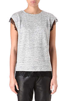 MARC BY MARC JACOBS Carmen lace-trimmed top