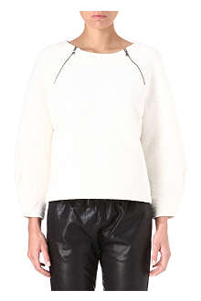 MARC BY MARC JACOBS Cleo quilted sweatshirt
