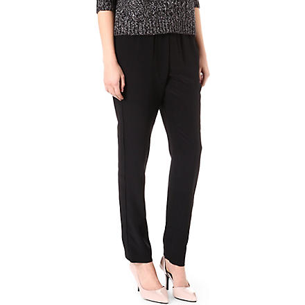 MARC BY MARC JACOBS Silk trousers (Black