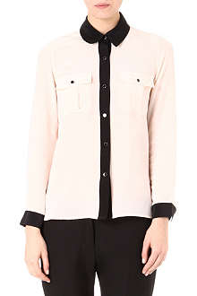 MARC BY MARC JACOBS Francis contrast-trim shirt