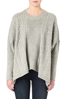 MARC BY MARC JACOBS Freda cable-knit jumper