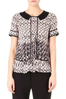 MARC BY MARC JACOBS Isa printed silk top