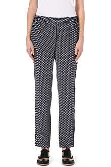 MARC BY MARC JACOBS Juna printed silk trousers