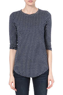 MARC BY MARC JACOBS Juna printed linen top