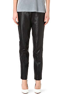 MARC BY MARC JACOBS Boyfriend leather trousers