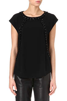 MARC BY MARC JACOBS Kissa embellished top